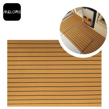 Flexible Marine Faux Teak Sheet EVA Foam Sheet