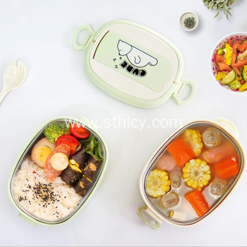 Cute Kids Insulated Stainless Steel Bento Lunch Box