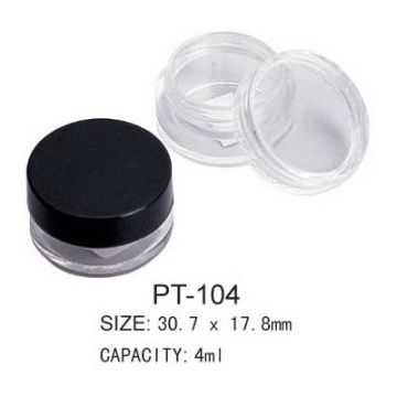Empty Cosmetic Plastic Round Concealer Packaging
