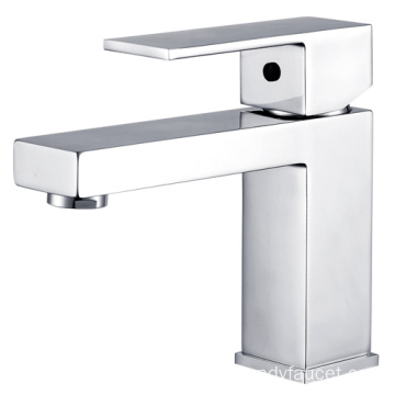 Square Brass basin mixer