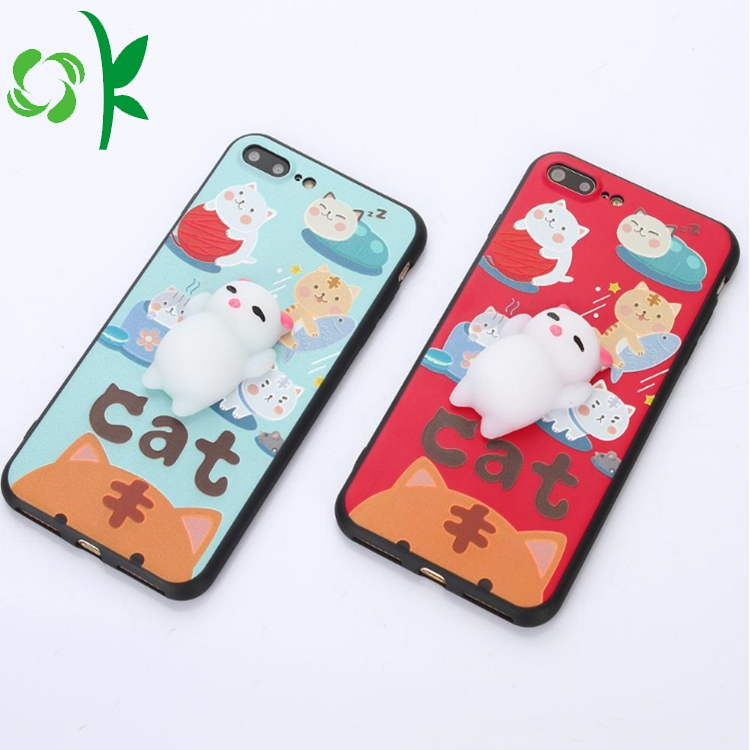 Silicone Cartoon Phone Case