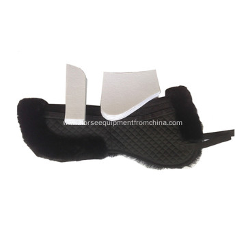 Lambskin Numnah collection horse saddle pad