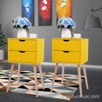 Customsized cheap black nightstands side table nightstand