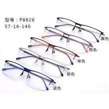 High Quality Half Frame Optical Glasses for Men