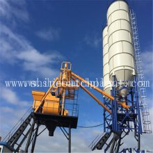 China New Product for Mobile Batching Plant 25 Ready Concrete Batching Plant supply to Philippines Factory