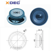 Excellent quality for for Wireless Subwoofer Fullrange 57mm ferrite magnet 4ohm 2w speaker supply to Micronesia Manufacturer