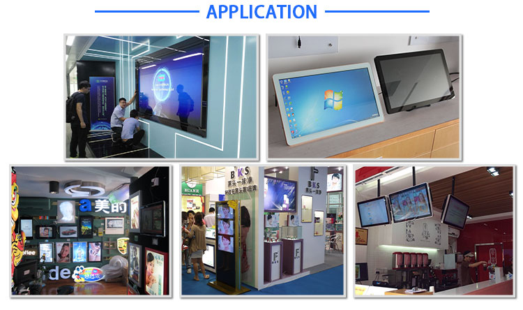Android shop window lcd advertising player