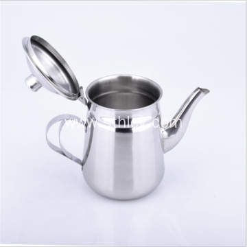 Stainless Steel Swan Teapot