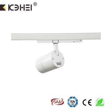 25W LED rail dimmable track light