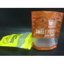 Plastic Pet Food Bag With Clear Window