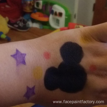 Washable Face Paint Crayon Kits for Christmas