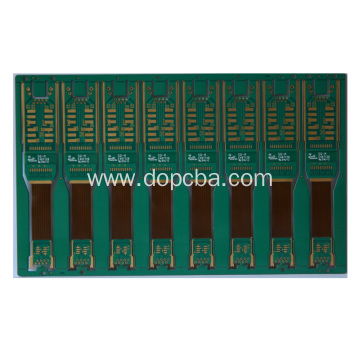 Multilayer Green ENIG Rigid Flex PCB Board