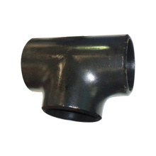 Black Butt Welding Pipe tee For Structure Pipe