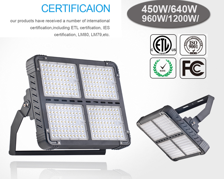 Led Lights for Outdoor Basketball Court