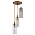 Glass Material clear Hanging Pendant Lamp