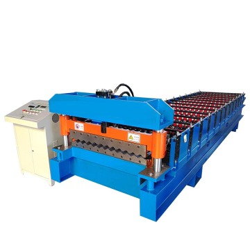Popular Corrugated Metal Roof Sheet Roll Forming Machine