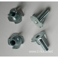 Zinc Plated Furniture T-Nuts M5x14