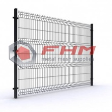 Outdoor Color 3D Vinyl Coated Welded Fence