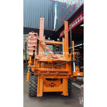 Highway Guardrail Post Ramming Machine