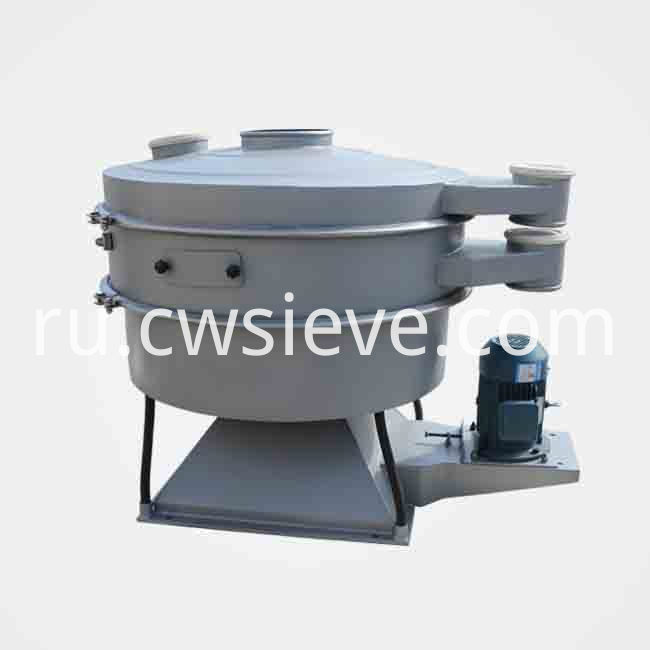 Swing vibrating sieve