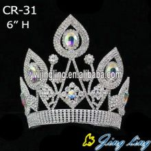 6 Inch Women Queen Crowns CR-31