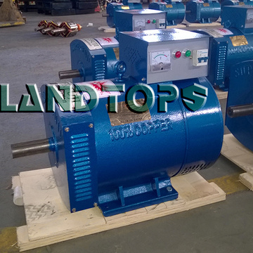 ODM for China ST Series Single Phase Alternator,Single Phase AC Generator,Single Phase Ac Dynamo Supplier 15KW ST Single Phase AC Generator Dynamo Power export to India Factory