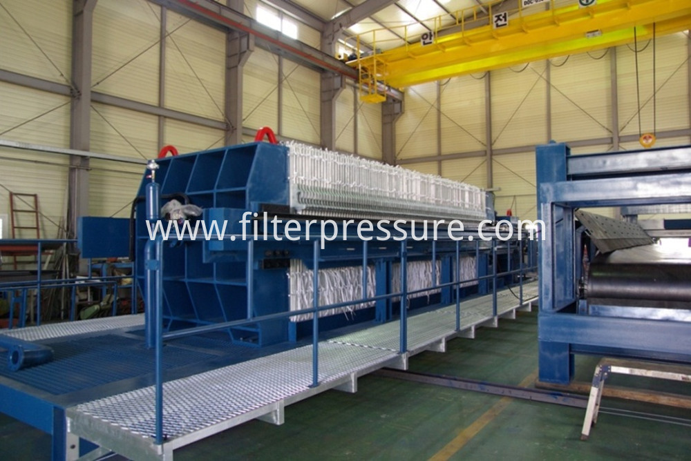 Automatic Plate Shifting Filter Press