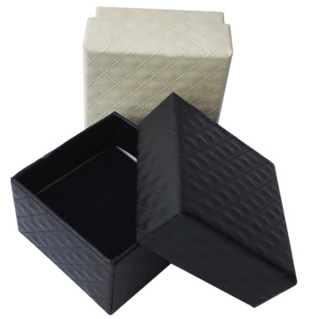 Embossing paper jewelry gift box