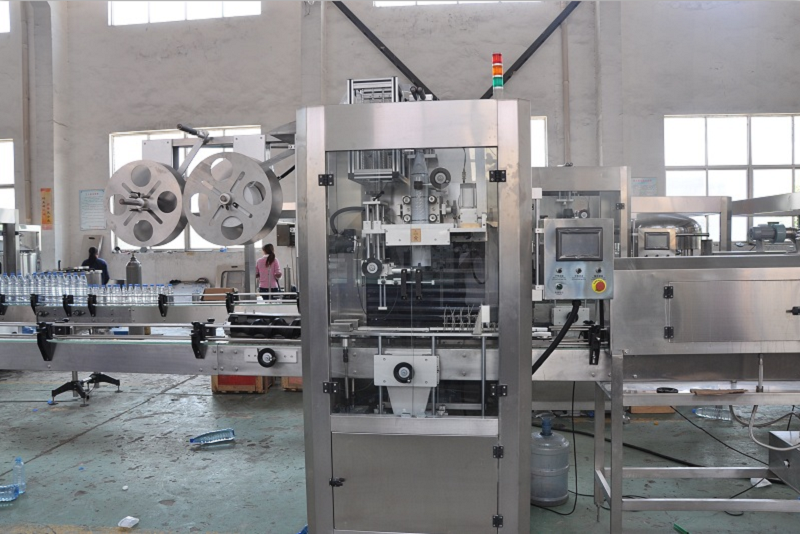 Sleeve Labeling Machine12