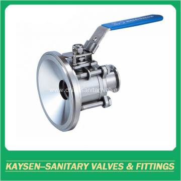 3A Sanitary manual tank bottom ball valve