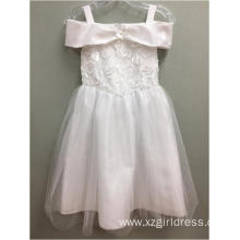 fashionable white  Princess Dress