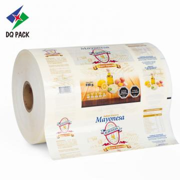 Mayonesa Sauce Customized Printing Packaging Roll Film