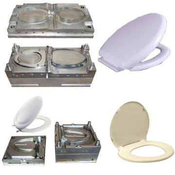 Plastic toilet seat pad cover mould