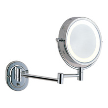5x magnifying lighted shaving mirror