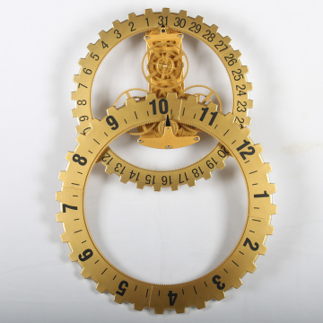 Modern Large Gear Wall Clocks