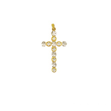 Cross Charm Pendant Traditional Figure