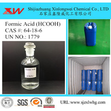 10 Years manufacturer for Textile Chemicals Tech grade Formic Acid export to France Importers