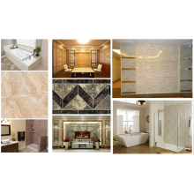 Free sample for Perforated Pvc Wall Marble Panels Direct Factory LOW PRICE UV interior decorative wallpanel supply to Indonesia Supplier