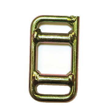 Welded Buckle With One Time Slide