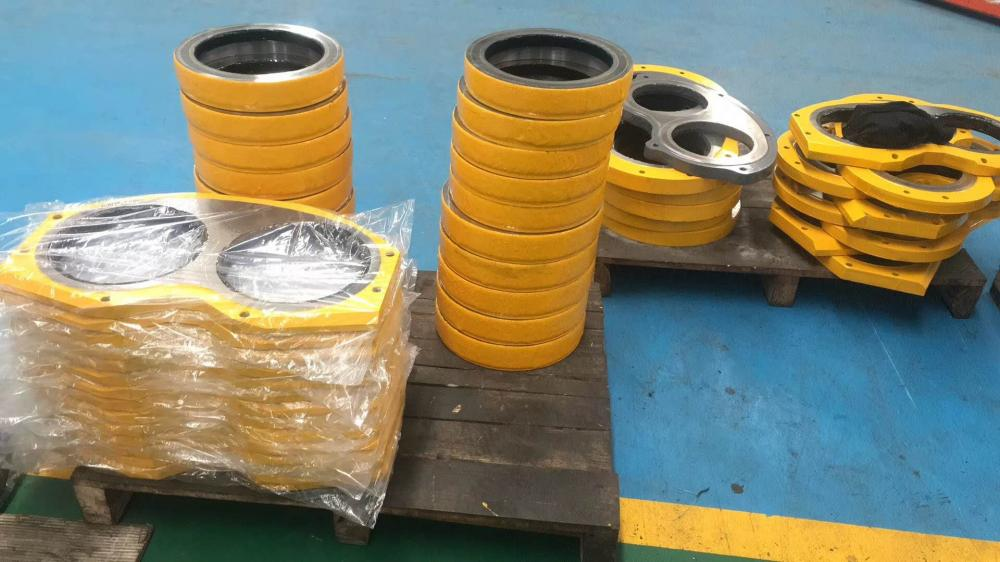 Pm Concrete Pump Wear Plate And Ring