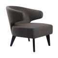 Modern fabric lounge chair wholesale