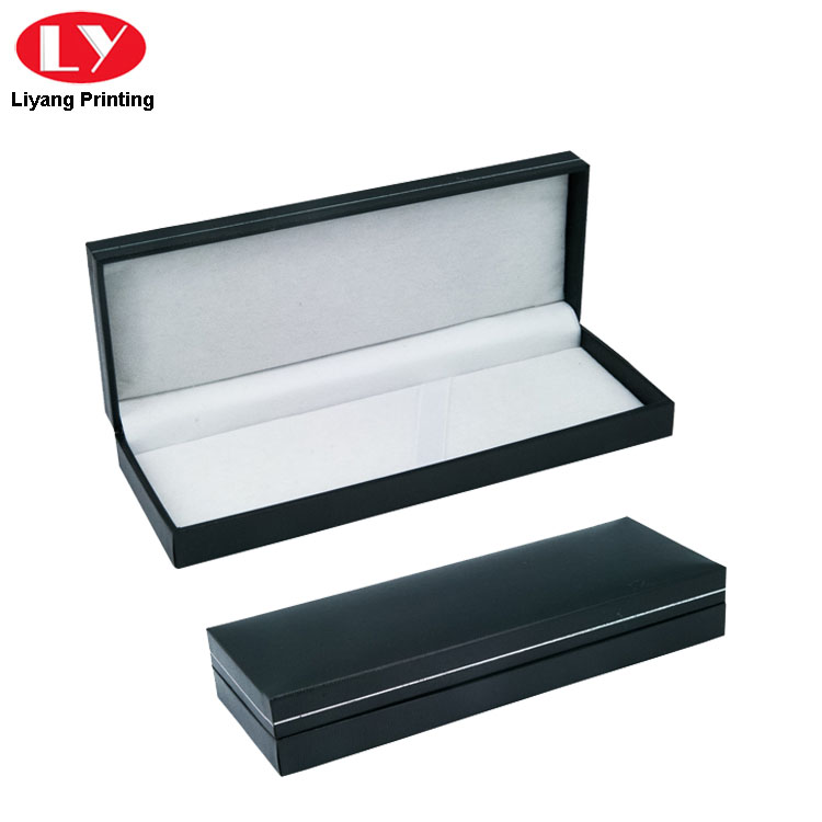 Luxury Pen Box Elastic Close
