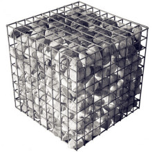 Hot-Dipped Galvanized Welded Stone Cage Gabion Basket
