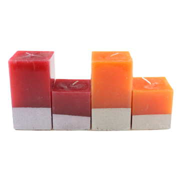 Decorative Pillar Candles Scented Sale