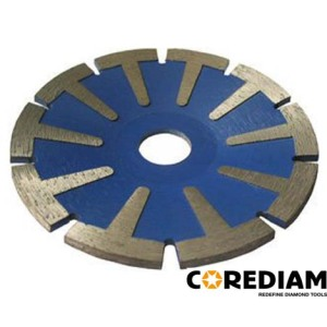 Sintered Protective T Segment Concave Blade