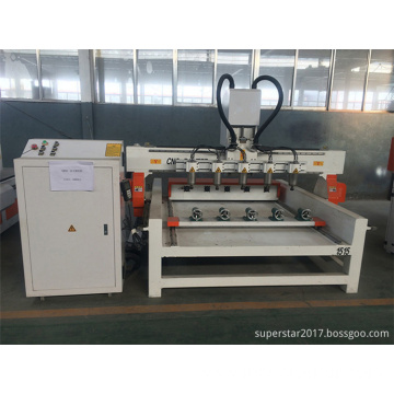 10 heads router cnc for cylinders