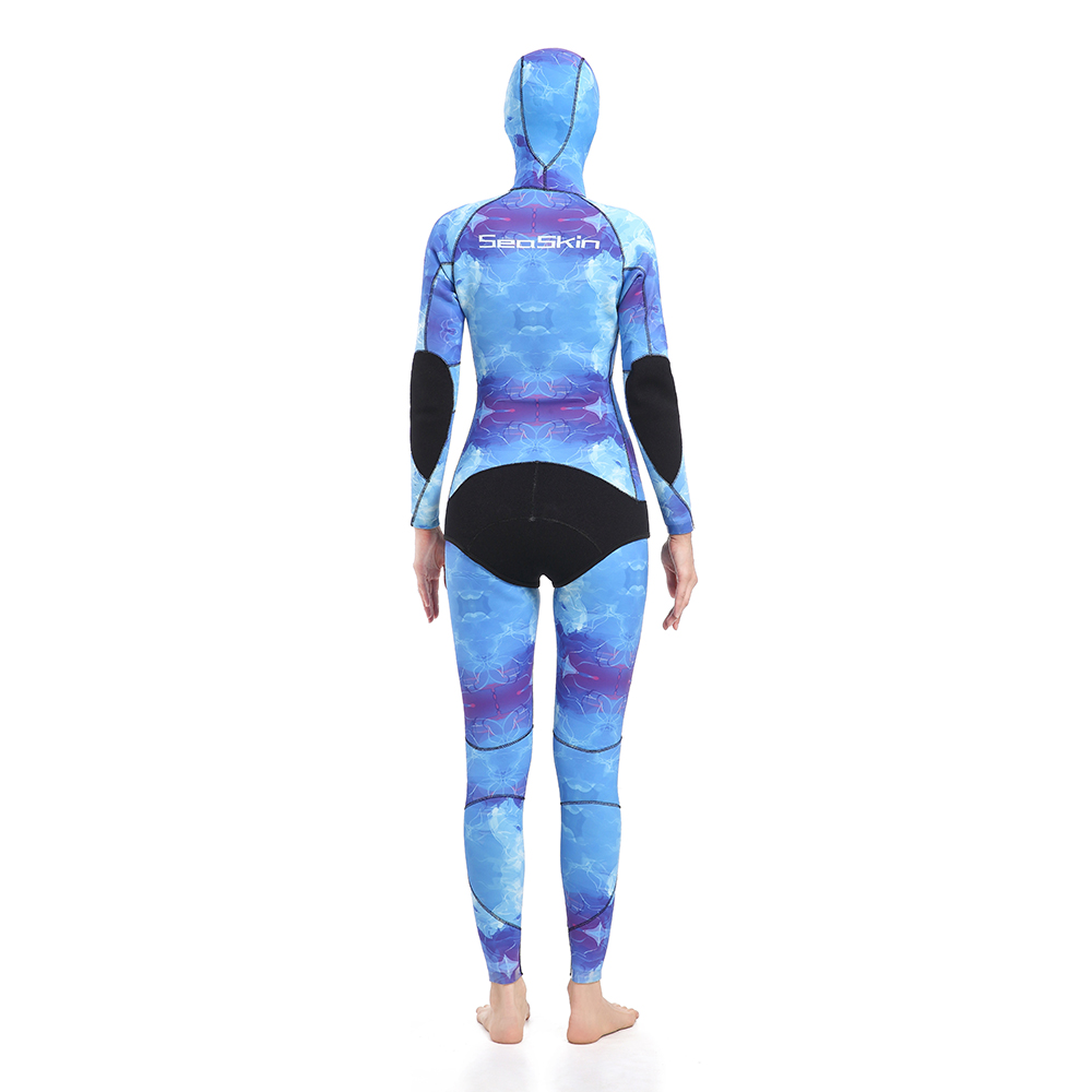 Blue Water Camo Spearfishing Wetsuits