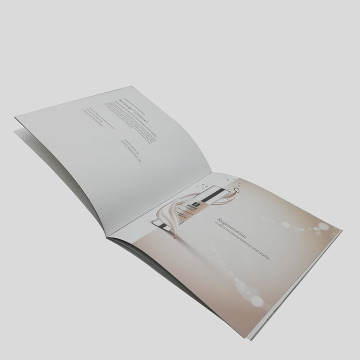 Custom Embossed Surface Finshing Cosmetic Paper Brochure