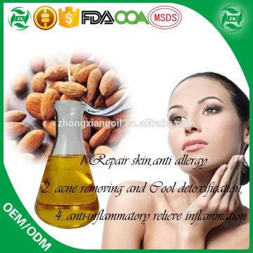 Hot Sale Private Labelling Sweet Almond Oil