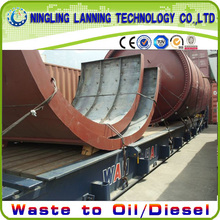 factory low price Used for Scrap Plastic Pyrolysis Machine 90% oil output plastics pyrolysis machine export to Dominica Manufacturers